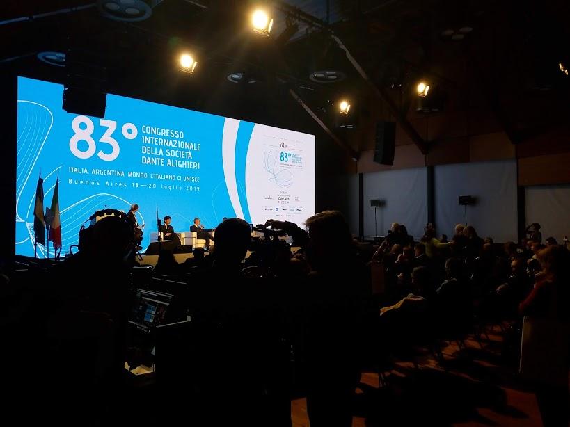 83° Congreso de la Società Dante Alighieri 2